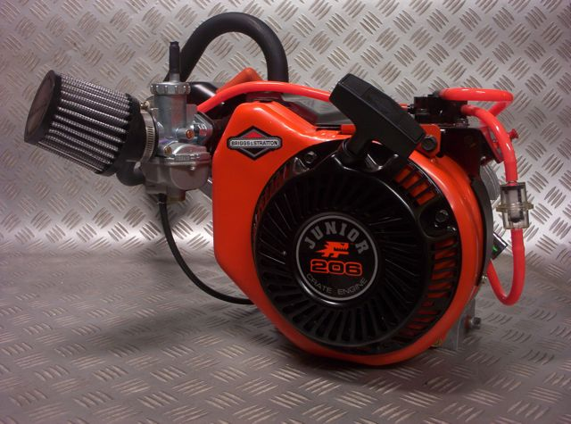 Briggs & Stratton Animal series racing engines and info