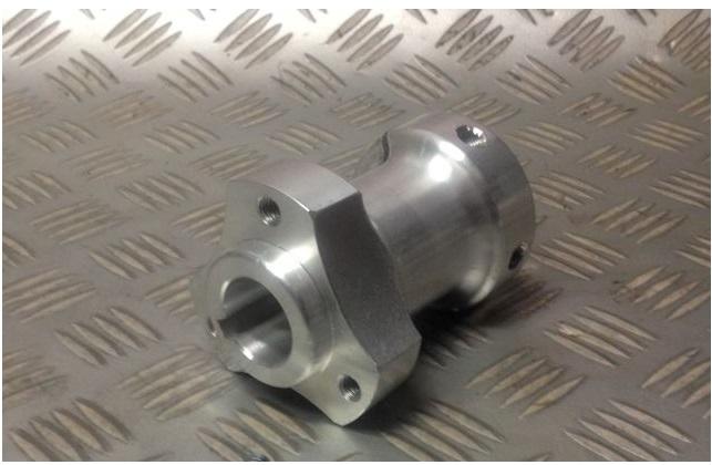 Go Cart Axles With Hubs : Go kart rear axle hub mm shaft long performance