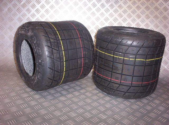 Gokart Off Road Dirt Tyres A Pair Of 12x9x6 Performance