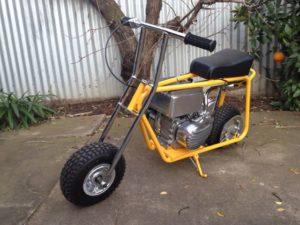 mini-bike-yellow - 1
