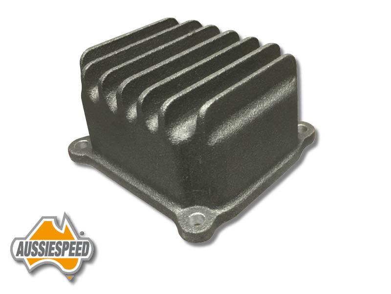 Hemi Predator finned aluminum valve cover AS0469r