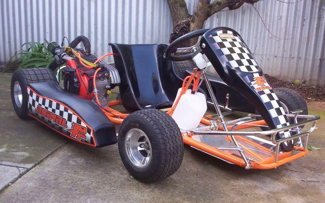 AussieSpeed Stage 2 A206 Dirt kart