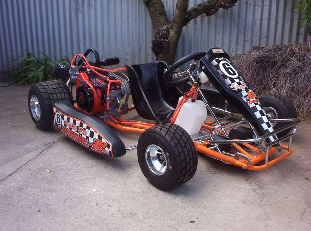 AussieSpeed rookie go kart entry level