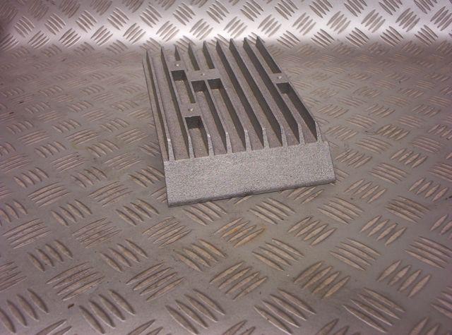 Hemi Predator Honda GX & Clone Engine aluminum top plate cover raw