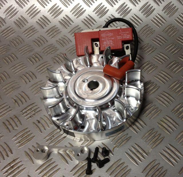Honda & Clone 5 5 & 6 5 billet Flywheel ARC 7100 rpm limiter