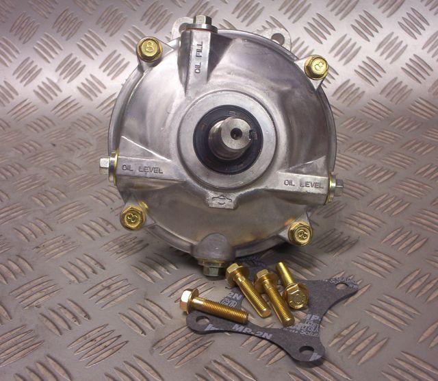 Quarter midget gear reduction gearbox 6 to 1