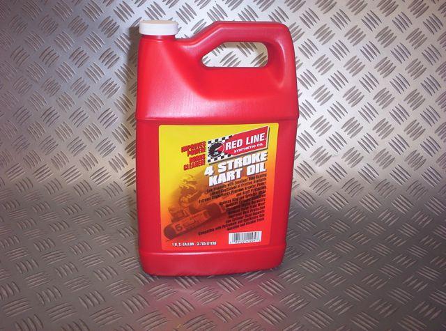 Redline 4 stroke synthetic go kart oil 3x 1 quart