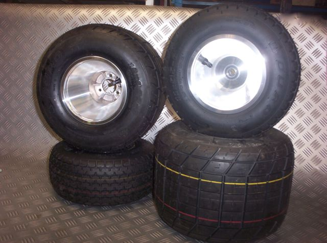 go kart off road dirt kart rim & tyre package